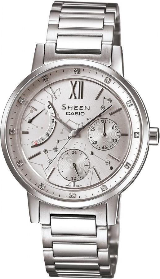 CASIO SHEEN SHE 3028D-7A - Dámské náramkové hodinky 344f33559ef