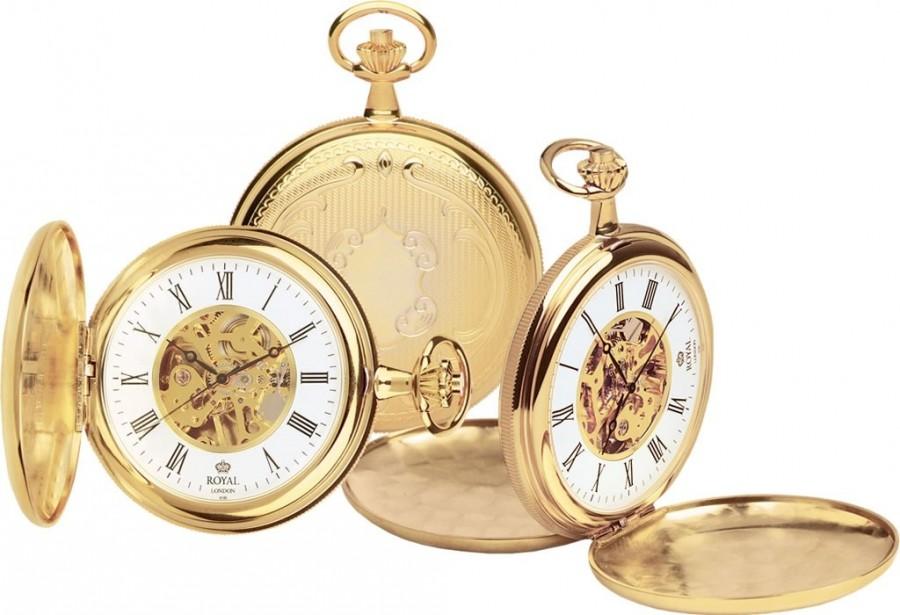 ROYAL LONDON 90005-02 - Pánske vreckové hodinky 9be48dc93c2