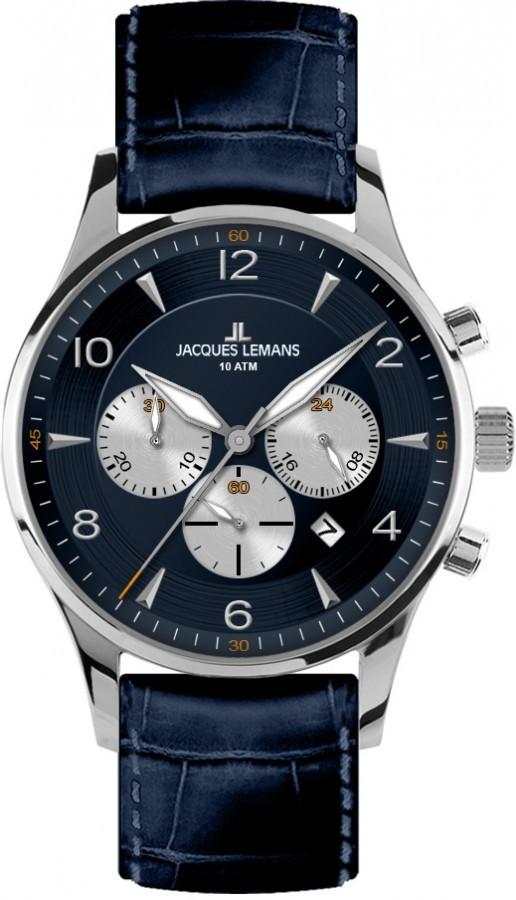 JACQUES LEMANS 1-1654C - Pánské hodinky JACQUES LEMANS London 7adb525c33b